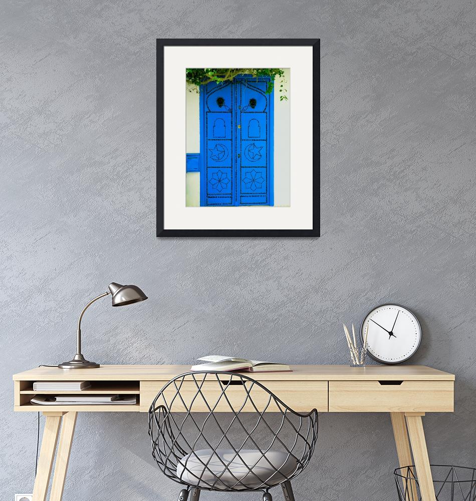 """Blue Door""  (2007) by rayjacque"