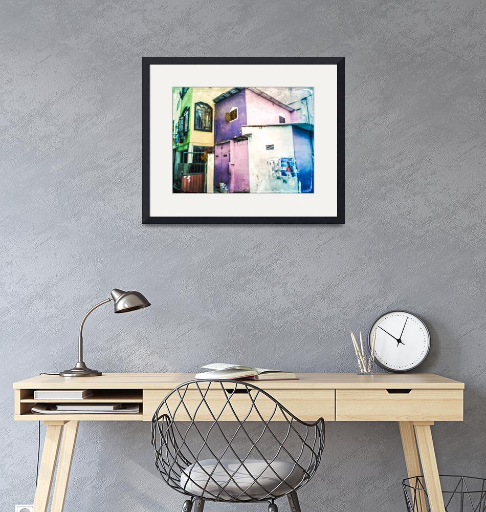 """""""Aquarelle City""""  (2018) by MiroMay"""