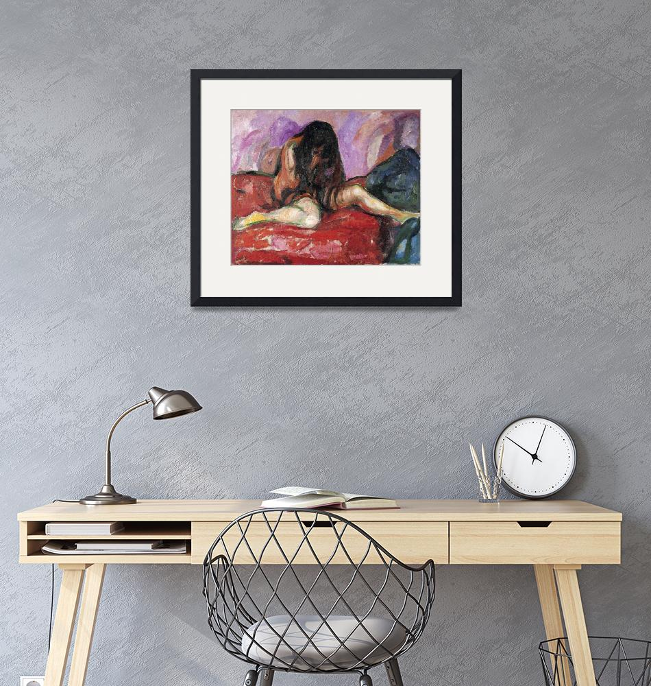 """""""Edvard Munch Painting 46""""  by ArtLoversOnline"""