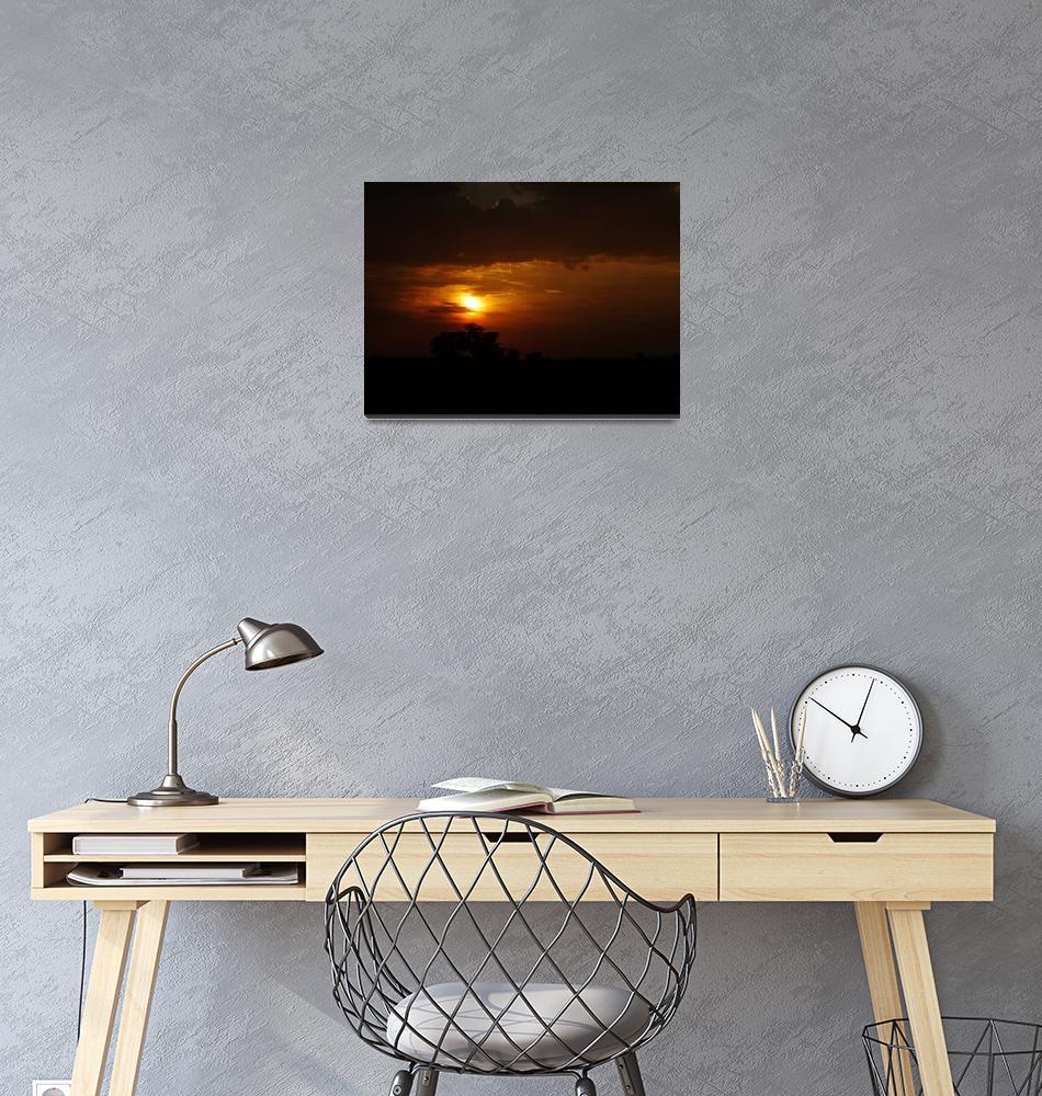 """Just A Sunset""  (2009) by rastko"