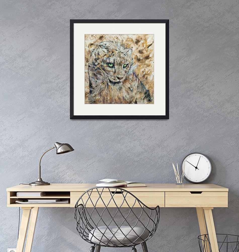 """""""Snow Leopard""""  by creese"""