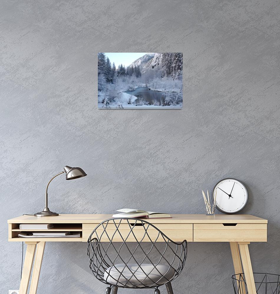 """A Yosemite Winter""  (2006) by OlamMasterImagery"