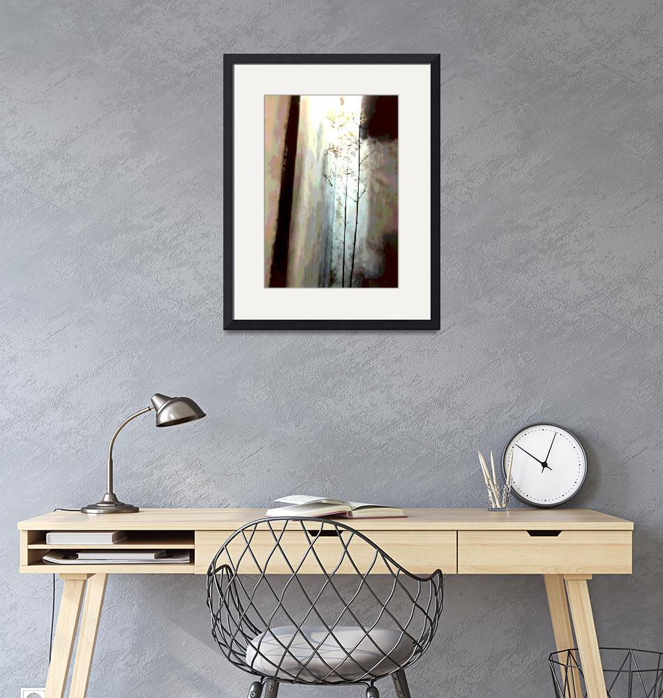 """""""China Delicate Bamboo 1 neutral""""  (2008) by LeslieTillmann"""