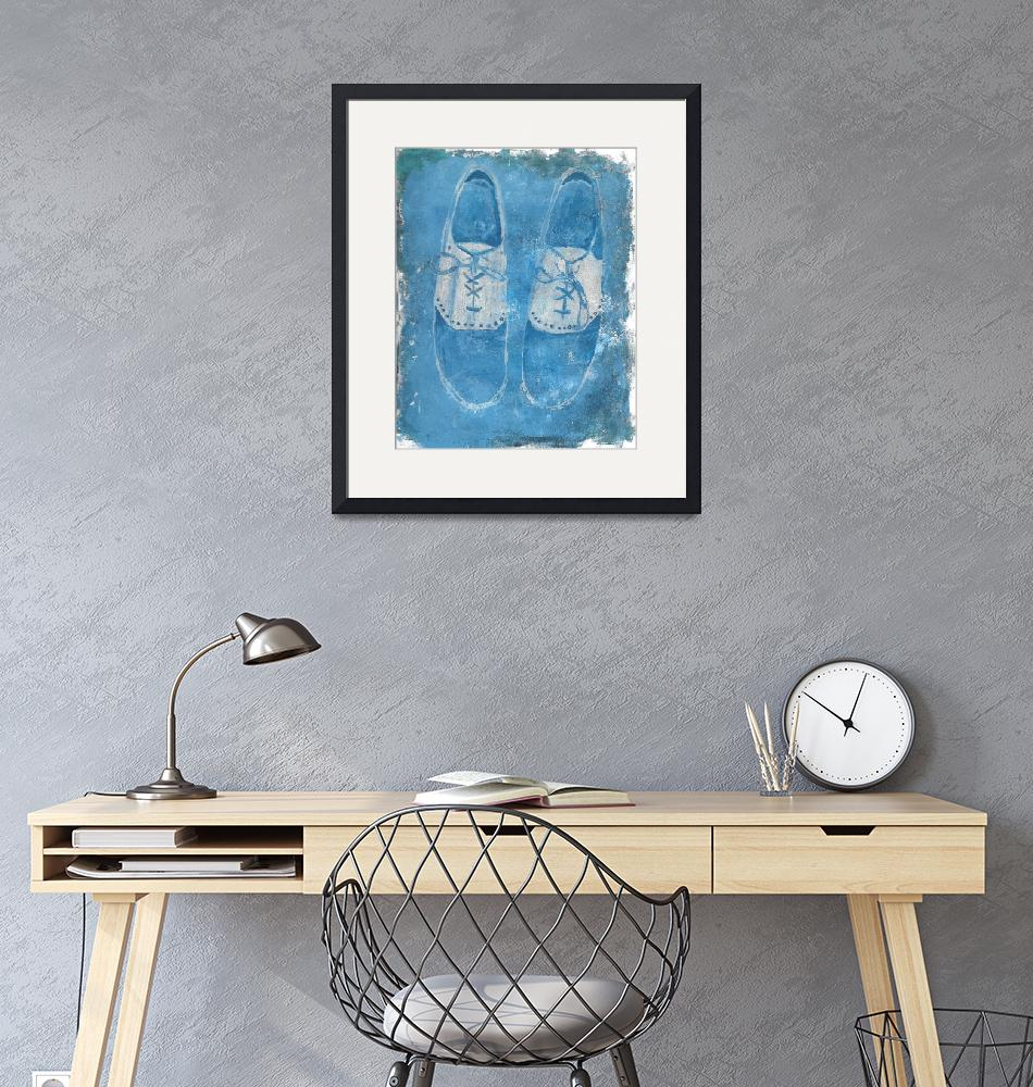 """""""Blue Shoes""""  (2019) by Pegeen"""