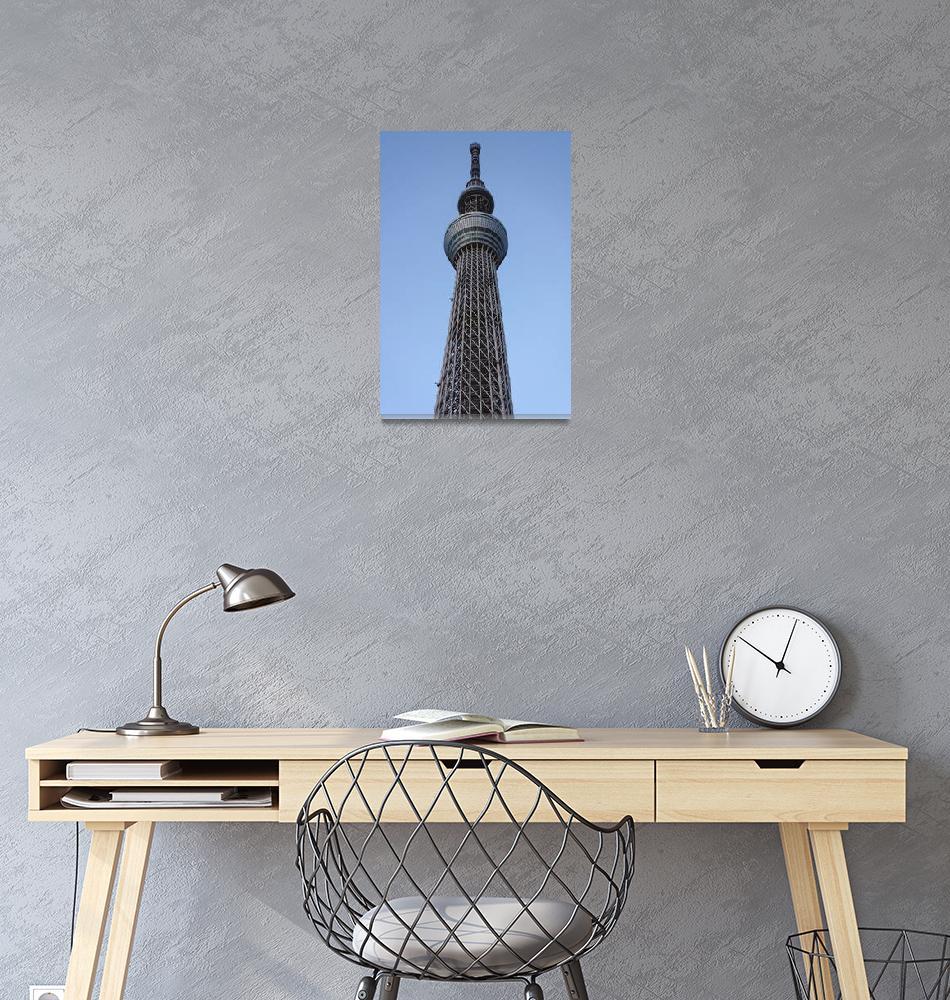 """Tokyo Skytree""  (2013) by robertmeyerslussier"