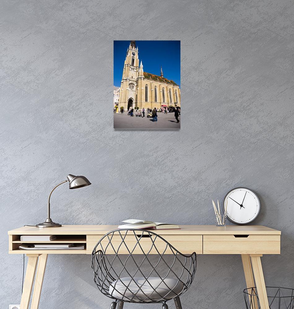 """Novi Sad Cathedral""  (2017) by raetucker"