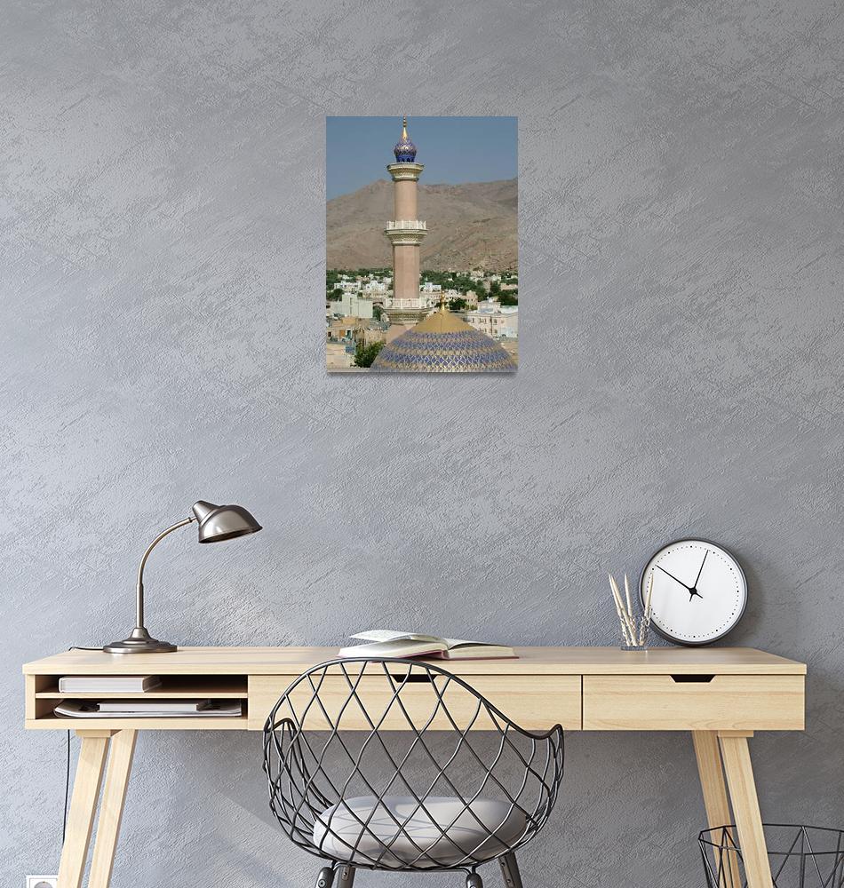 """Mosque in Nizwa, Oman""  by DonnaCorless"