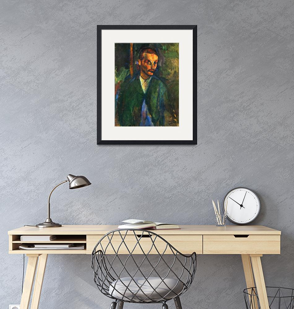 """""""Amedeo Clemente Modigliani Painting 55""""  by ArtLoversOnline"""