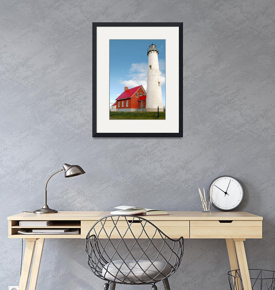 """""""Tawas Point Lighthouse""""  by doncon402"""
