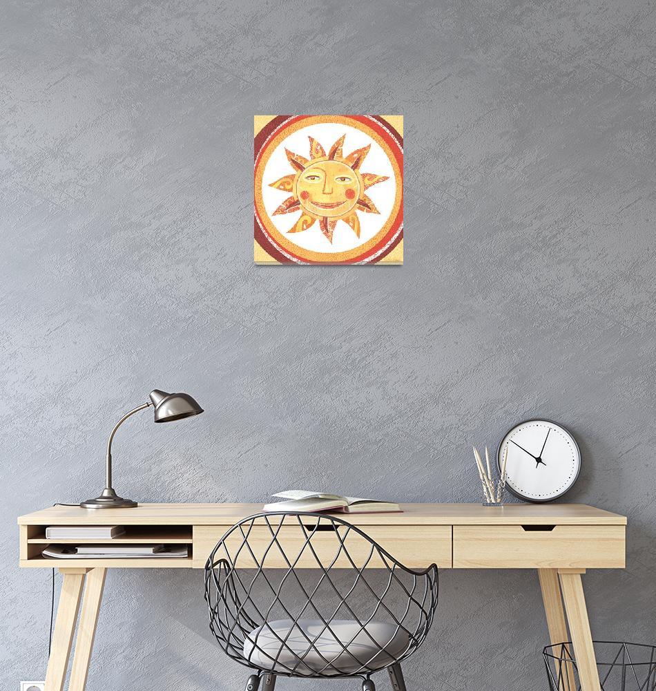 """Sun with Circles""  (2010) by SeanKaneStudio"