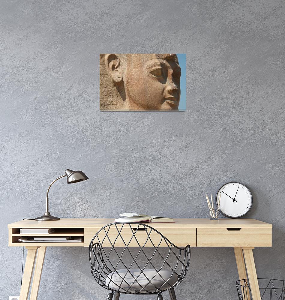 """Ramses II (closeup)""  (2008) by DonnaCorless"