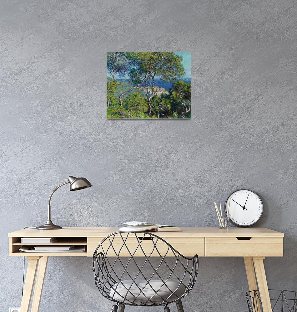 """Bordighera by Claude Monet""  by FineArtClassics"