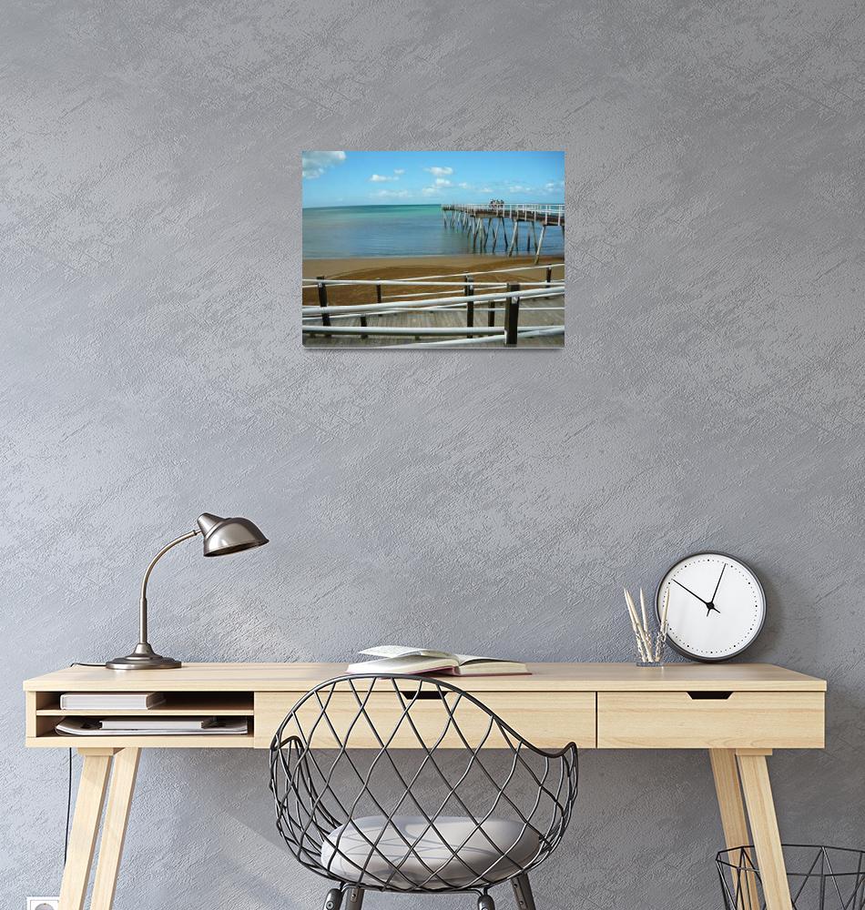 """pialba pier 2 Hervey Bay Queensland Australia""  (2008) by shanmaree"