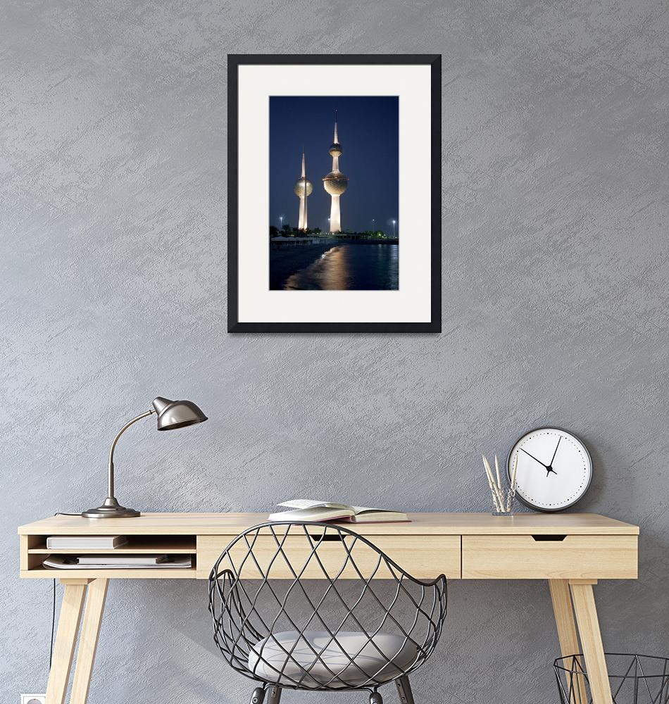 """Kuwait Towers""  (2004) by Lawrence"