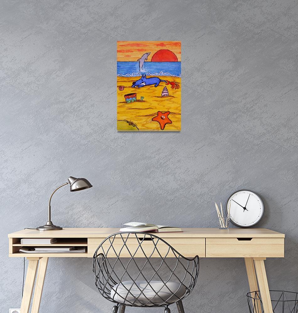 """""""Sunset Dinner""""  (1998) by JohannBosgra"""