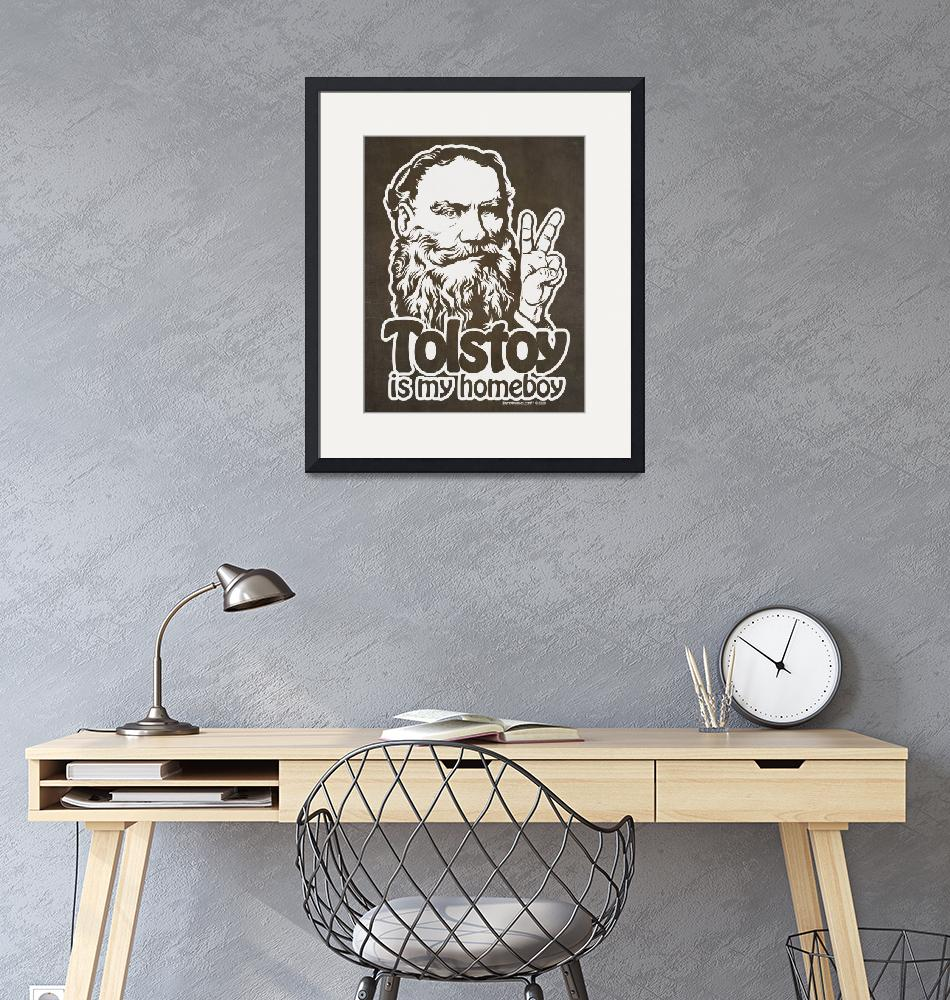 """""""Tolstoy Is My Homeboy""""  (2009) by libertymaniacs"""
