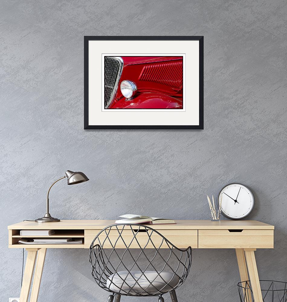 """""""Classic Car Red 07.14.07_773""""  (2007) by paulhasara"""