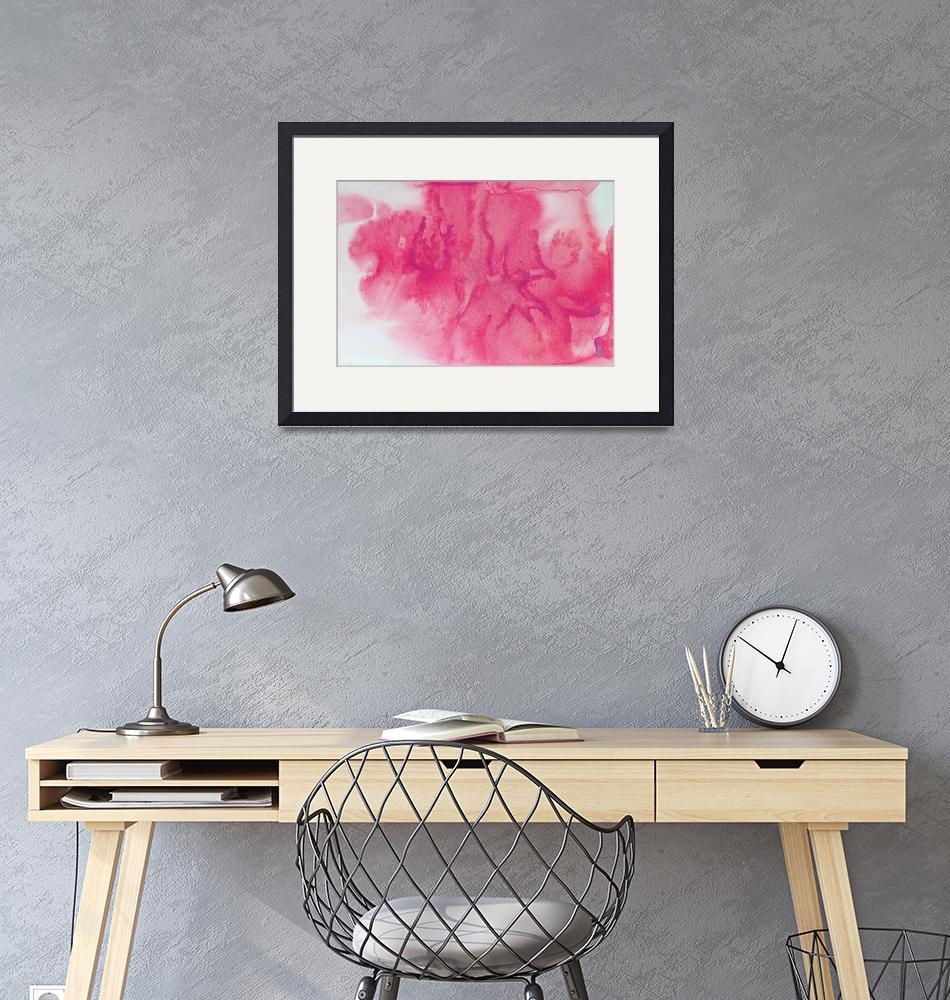 """ORL-10458-1 Watercolor Coastal Abstract 137""  by Aneri"