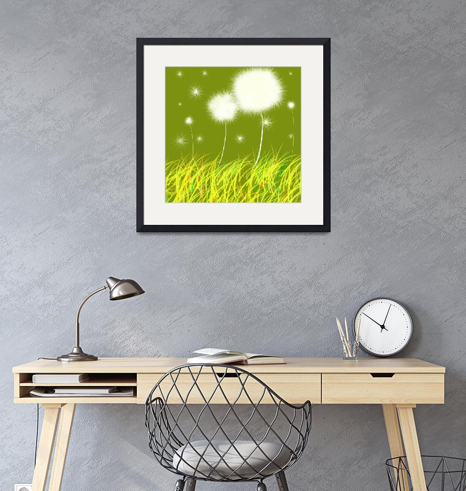 """""""Dandelions Are Free""""  (2011) by oystudio"""