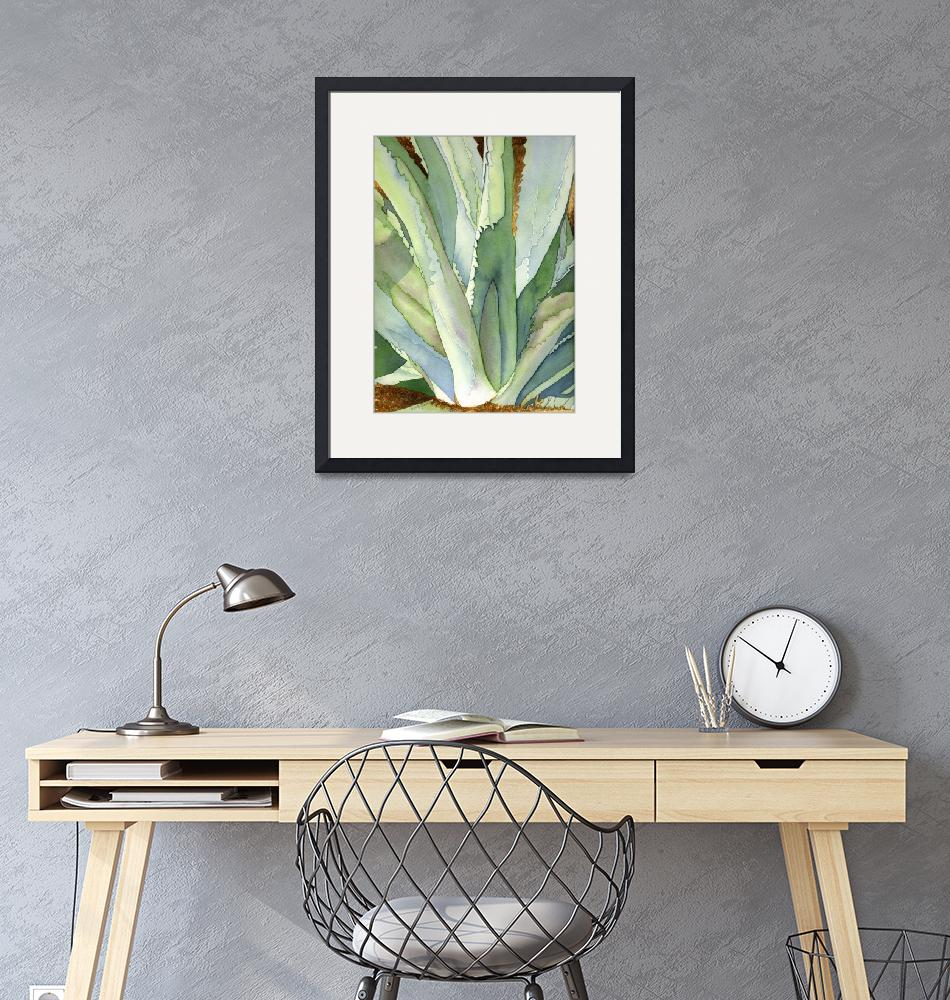 """Agave1""  (2006) by art4fish"