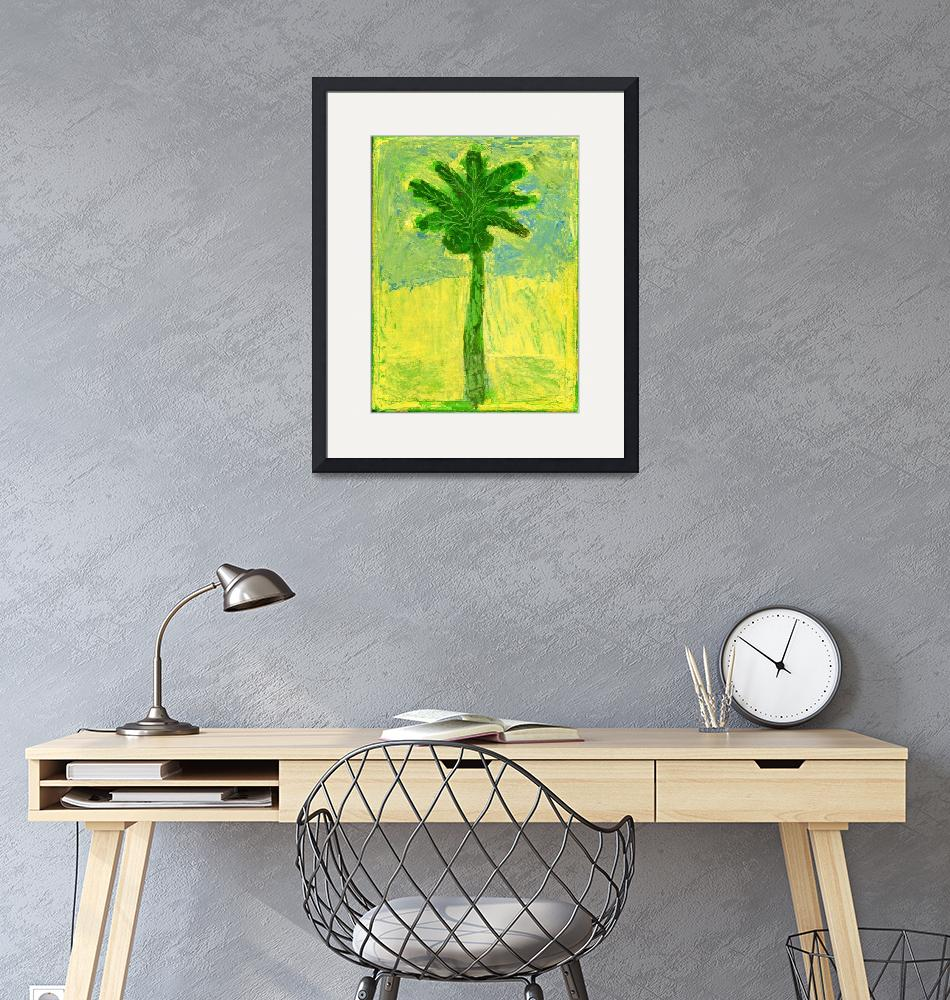 """""""Palm peace""""  (2008) by alsafiart"""