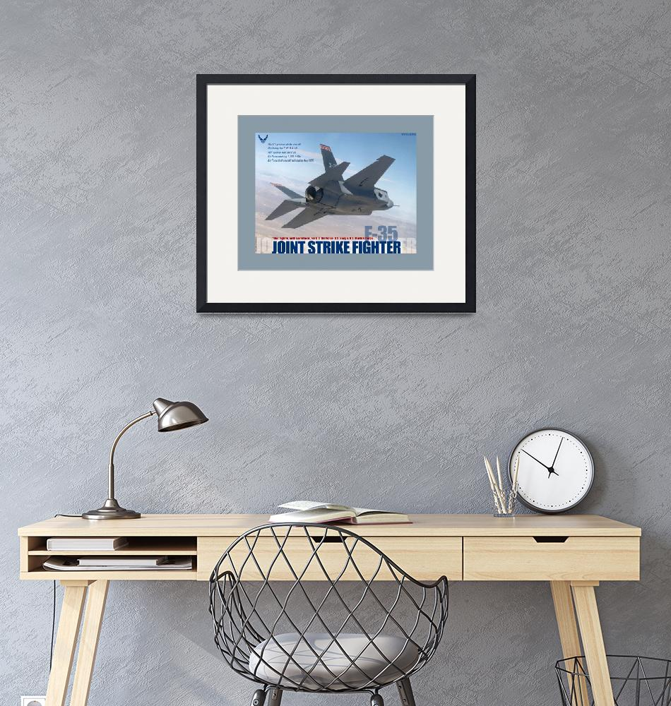 """""""F 35 Joint Strike Fighter""""  (2013) by TheNorthernTerritory"""