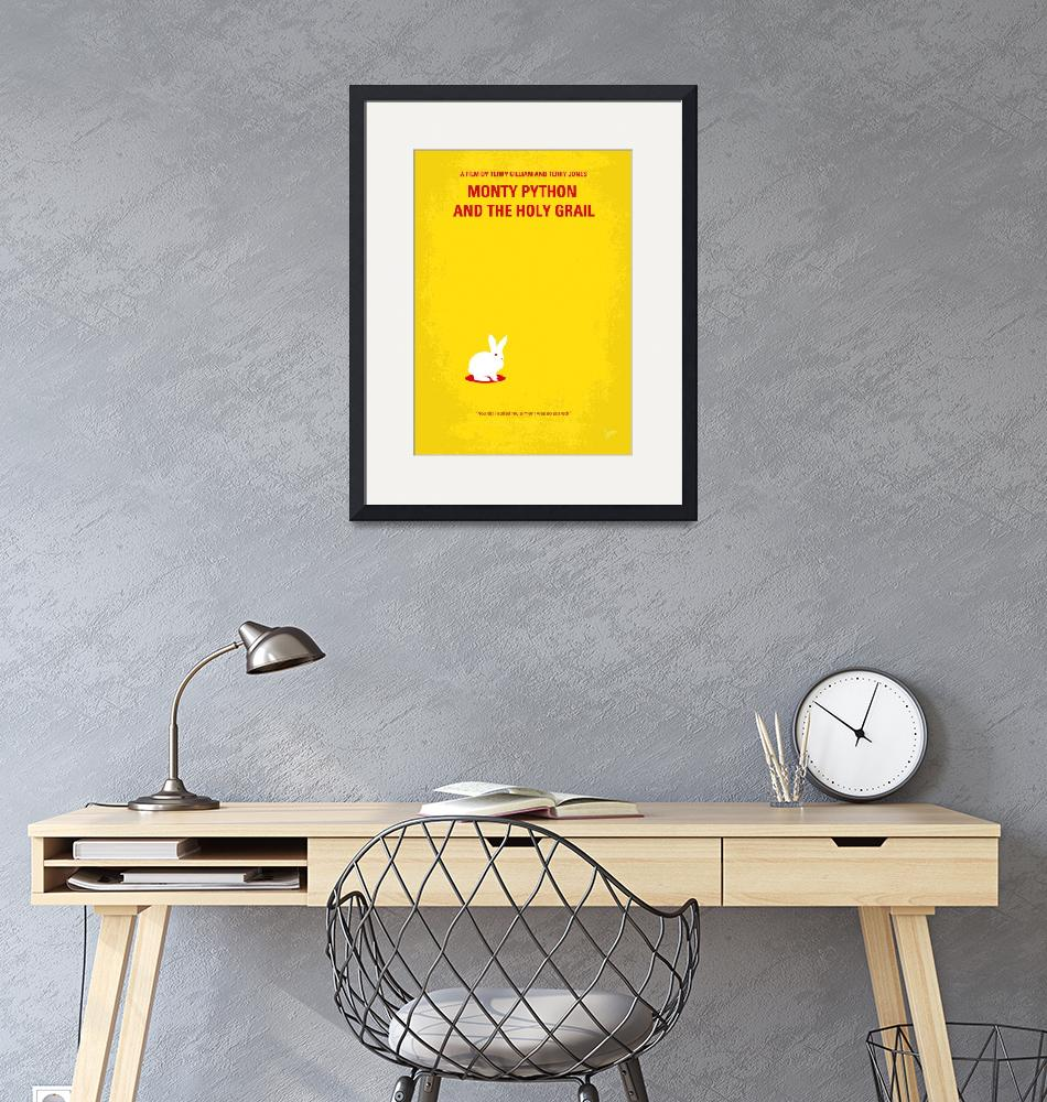 """""""No036 My Monty Python And The Holy Grail minimal""""  by Chungkong"""