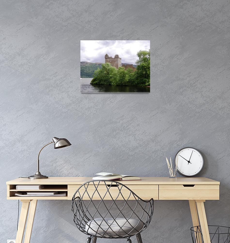 """Urquhart Castle Loch Ness""  (2007) by dplum"