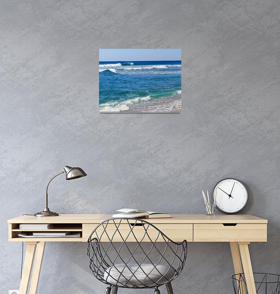 """Seaside""  (2013) by ArtbyCarol"