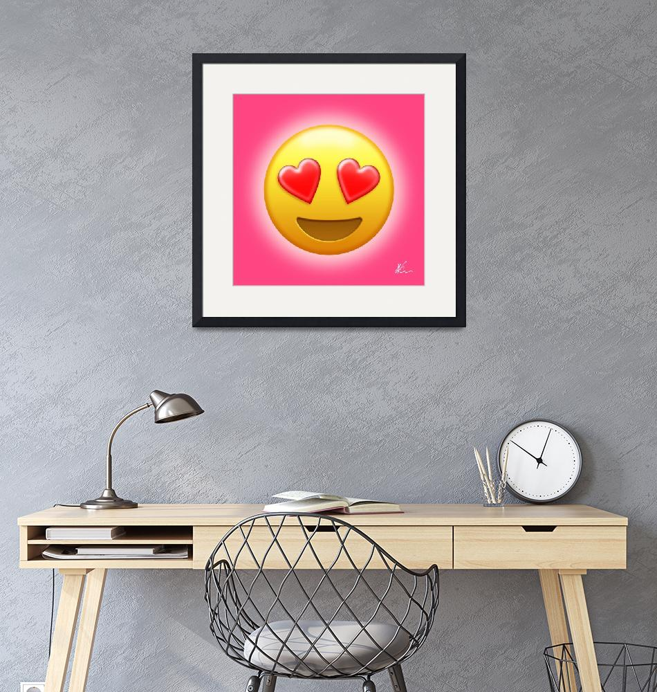 """""""Smiling Face with Heart-Eyes Emoji 