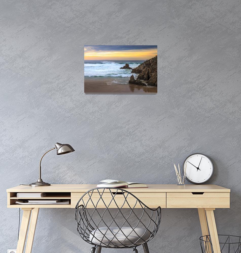 """""""Campelo Beach Galicia Spain""""  by Avanzini"""