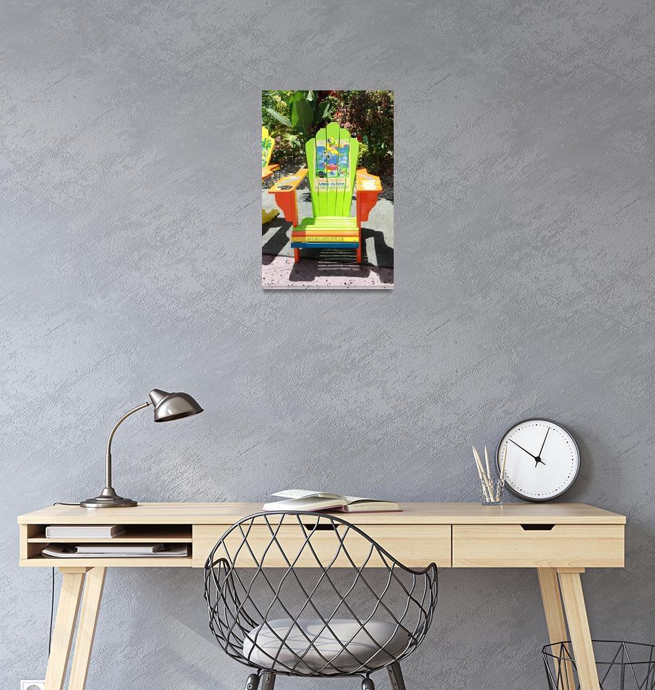 """Key West chair""  (2010) by easyfigure"