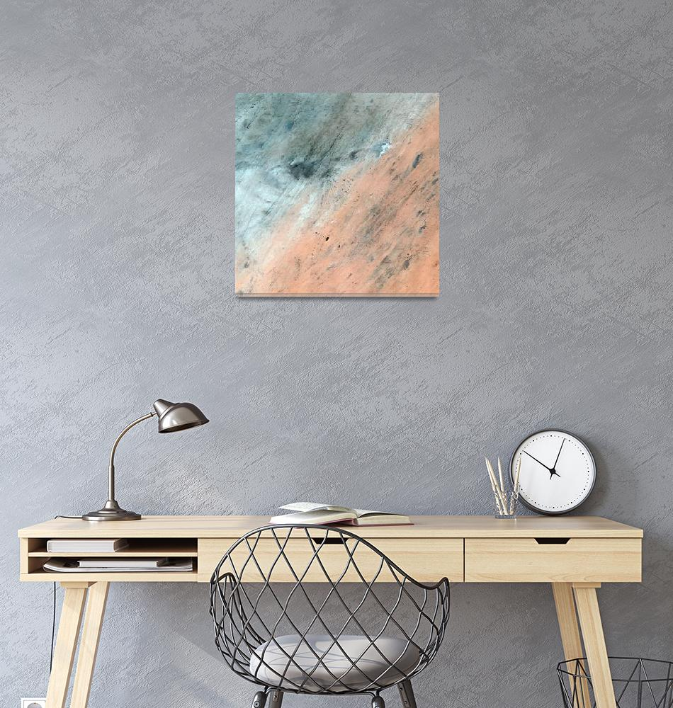 """Akchour (Mauritania) : Satellite Image""  (2004) by astriumgeo"