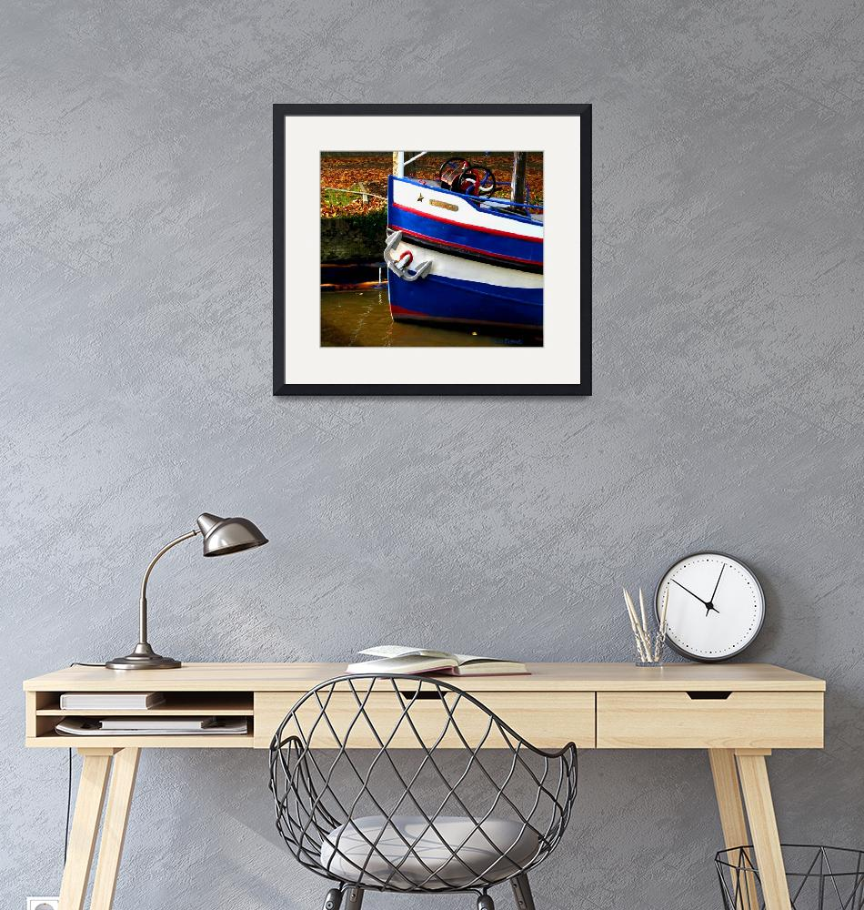 """""""Dutch boat colors""""  (2005) by nicoindo"""