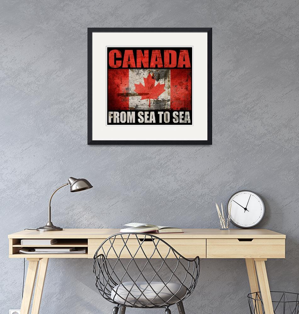 """""""CANADA-FROM SEA TO SEA""""  (2016) by thegriffinpassant"""