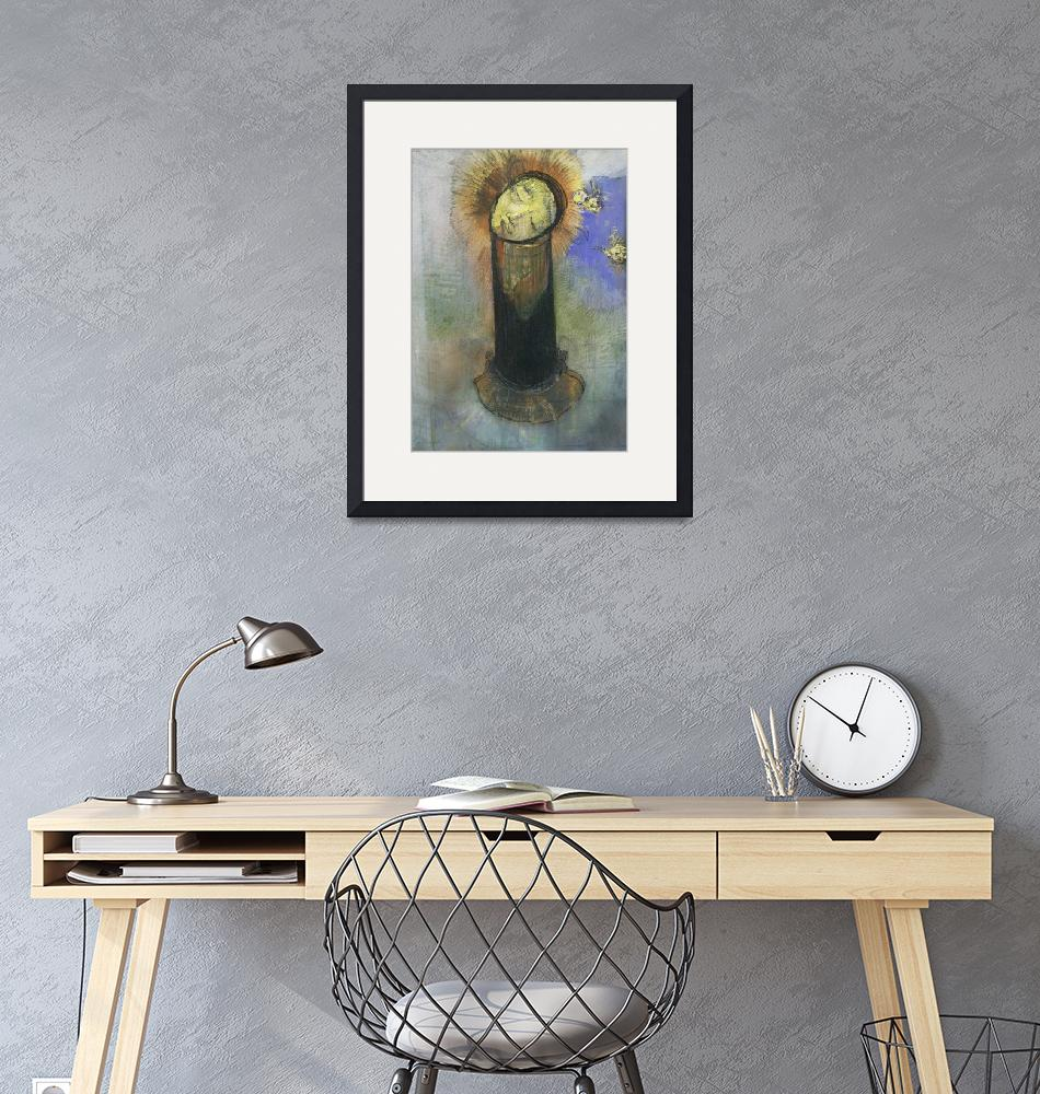 """The Head of John the Baptist, on a Pillar""  by FineArtClassics"