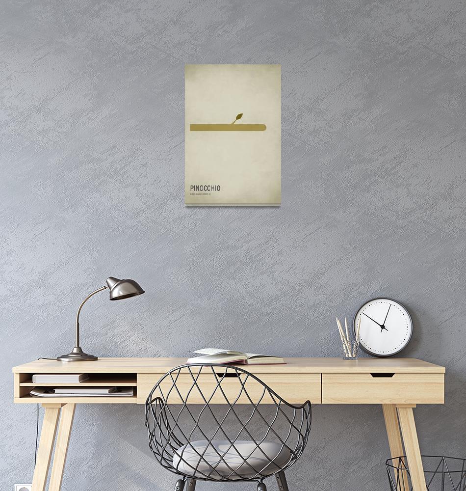 """Pinnochio""  (2010) by squareinchdesign"