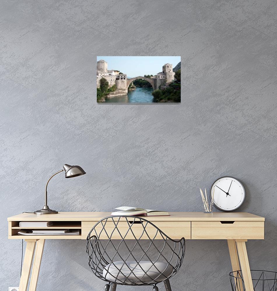 """Bridge of Mostar""  (2013) by pkotter"