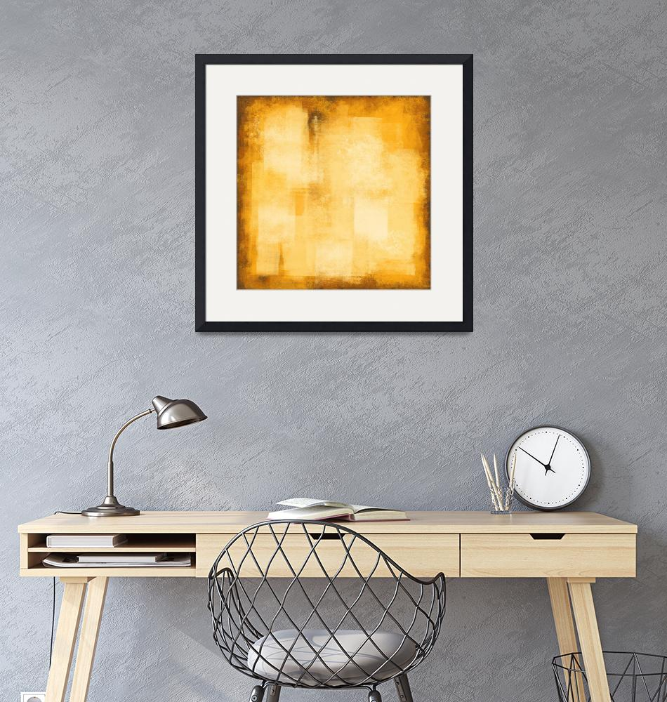 """Rustic yellow #17""  (2019) by EmericoStyle"