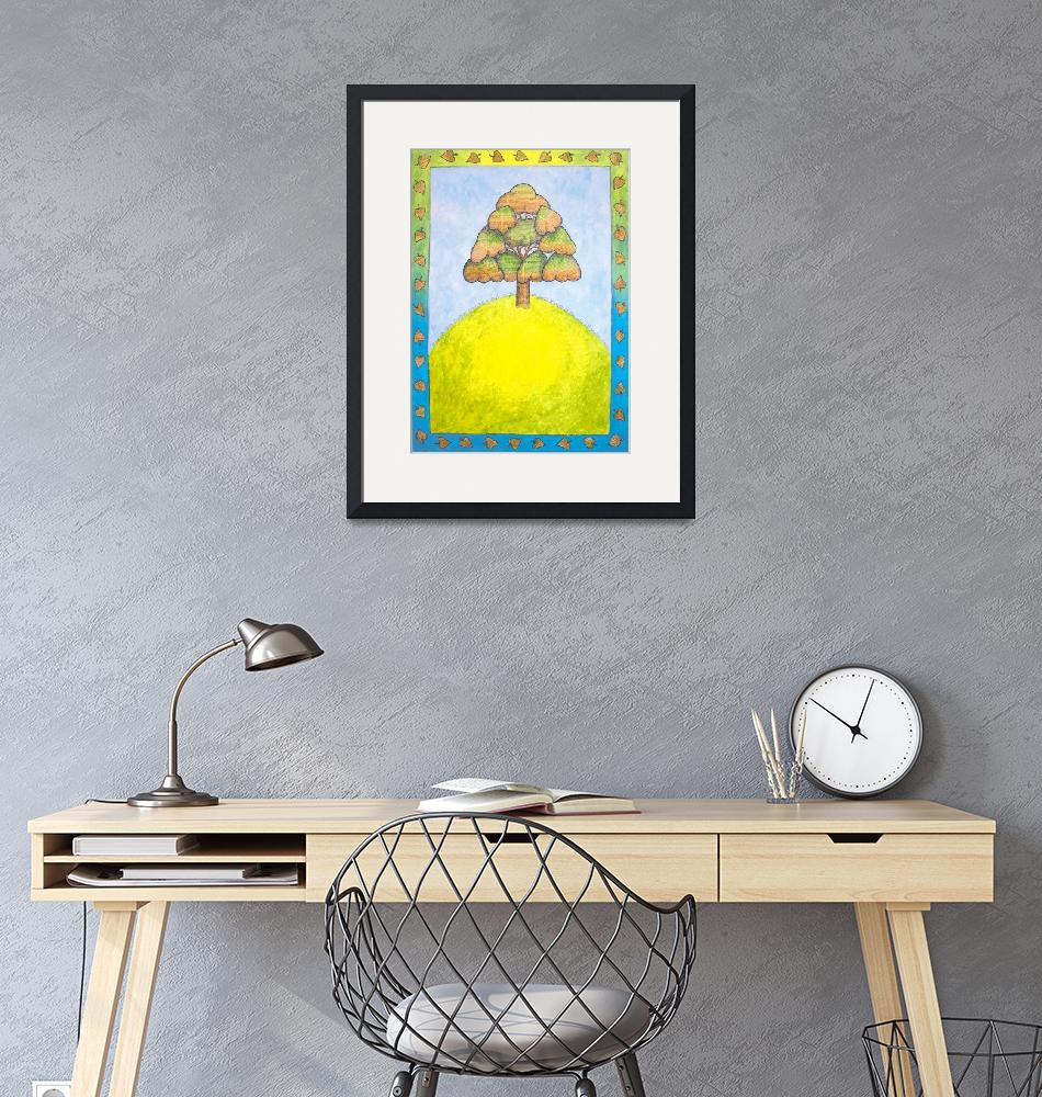 """""""Tree on a Hill"""" by victoriasponge"""
