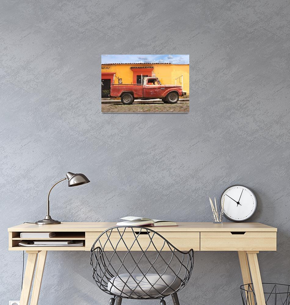 """""""old truck during day""""  (2012) by charker"""