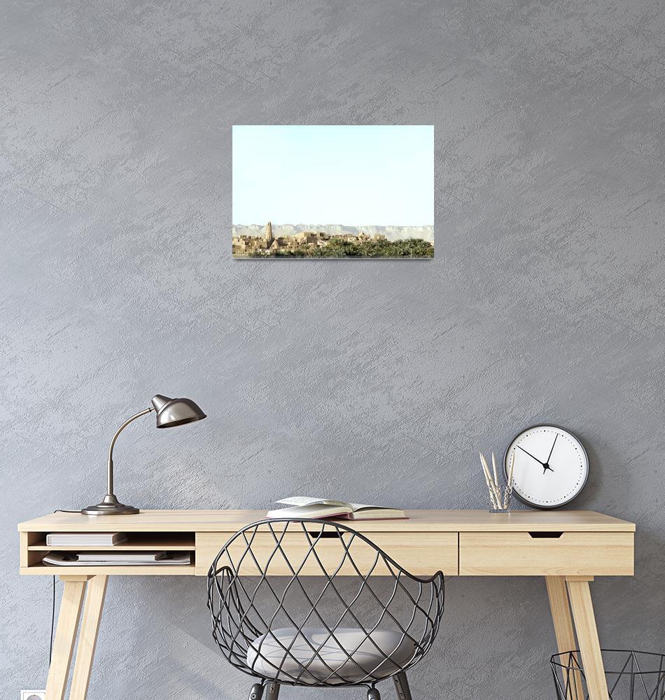 """Sahara Oasis - Desert Photography""  by johnzada"