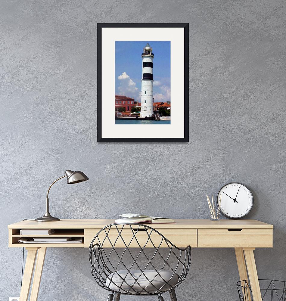 """Lighthouse: Venice, Italy""  (2006) by Xine"
