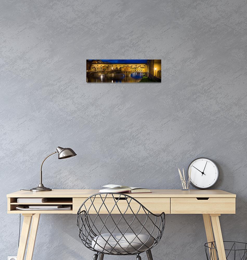 """Notte a Ponte Vecchio""  (2013) by Inge-Johnsson"