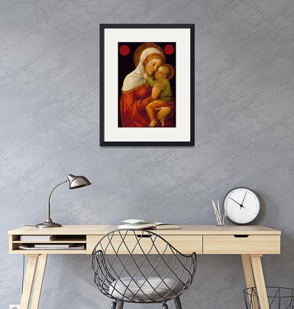 """""""Jacopo Bellini~Madonna and Child""""  by Old_master"""