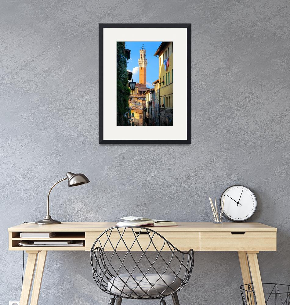"""""""Siena Streets""""  (2010) by Inge-Johnsson"""