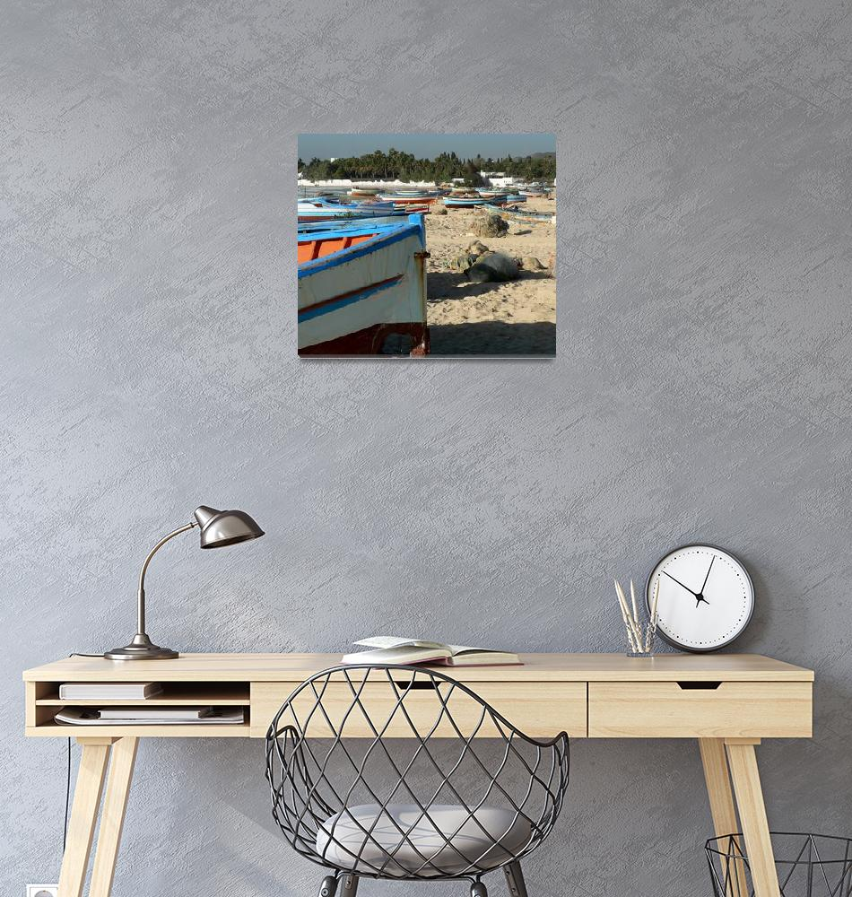"""Hammamet Beach""  (2007) by rayjacque"