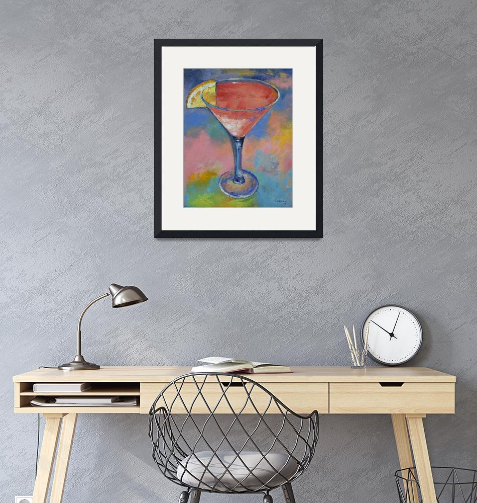 """Marilyn Monroe Martini""  by creese"