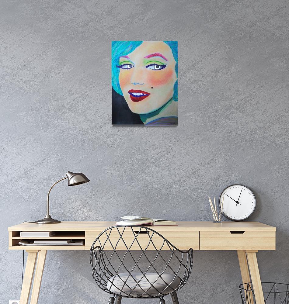 """Marilyn""  (2011) by laceychristiansen"
