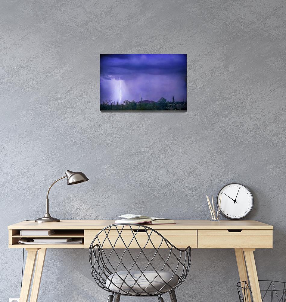 """""""Desert Rain""""  (2016) by lightningman"""